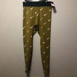 NWT Nike Leg-a-see logo pants